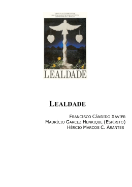 LEALDADE - Instituto Chico Xavier