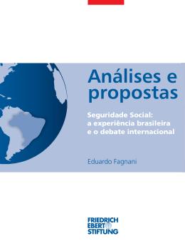 Seguridade Social: a experiência brasileira e o debate internacional