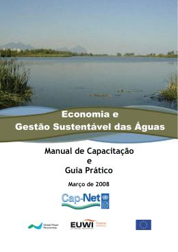 Economia e Gestão Sustentável das Águas