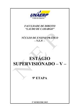 Estágio Supervisionado V