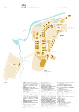 mapa versão portuguesa - Universidade de Aveiro