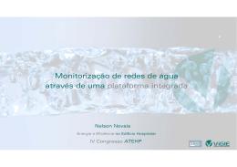 Monitorização de redes de água através de uma plataforma integrada