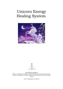Unicórnio Energia Healing Sistema ©