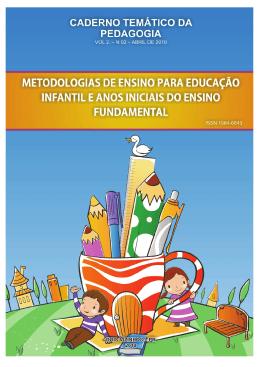 Caderno Pedagógico 2010