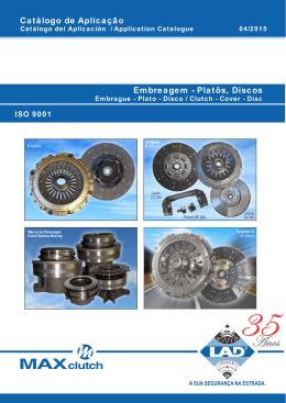 Catálogo Embreagens - LAD Indústria e Comércio de Peças Ltda.