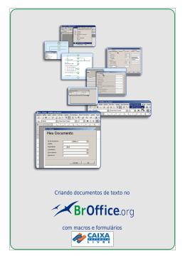 Criando documento de Texto no BROffice.org