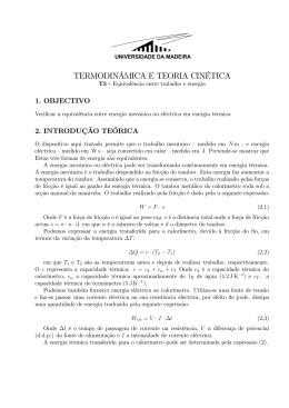 p03_Trabalho_e energia - Universidade da Madeira