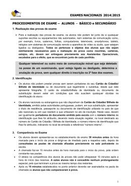 ALUNOS - BÁSICO e SECUNDÁRIO