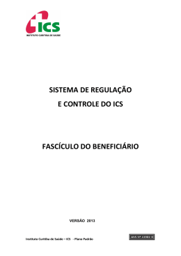 Manual do Beneficiário - SISREG