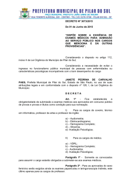 DECRETO Nº - Integri Brasil