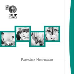 Cartilha da Comissão de Farmácia Hospitalar - CRF-SP