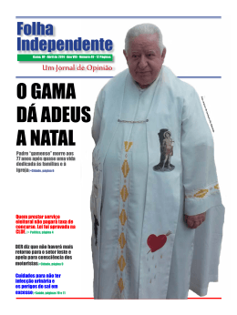 Folha Independente Abril de 2014
