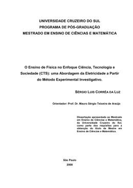Dissertação Final - Sergio Luis Correa da Luz