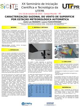 14 a 16 de outubro de 2015 Campo Mourão – PR