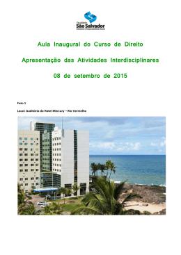 Book em PDF - Faculdade São Salvador