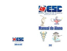Manual do Aluno ESC - esc
