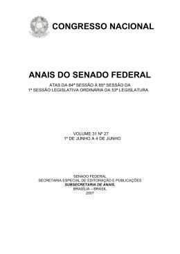 Livro 27 - Senado Federal