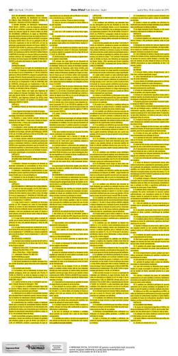 edital de abertura de inscrições publicado no doe de 28/10/2015