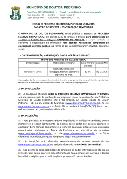edital de processo seletivo simplificado nº 02/2015