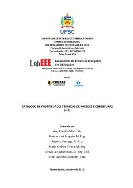 CATÁLOGO DE PROPRIEDADES TÉ Deivis Luis Mar Laboratório
