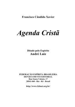 Agenda Cristã - O Consolador