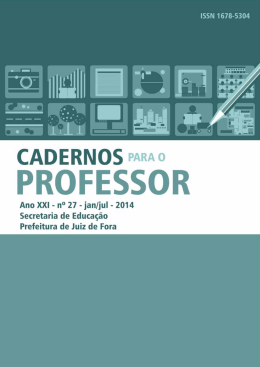 Caderno do Professor n27