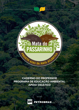 CADERNO DO PROFESSOR PROGRAMA DE