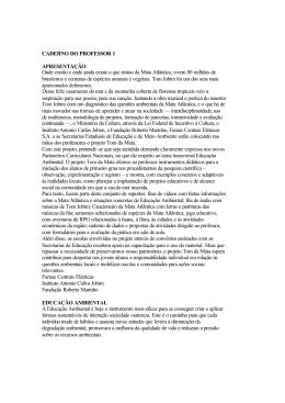 CADERNO DO PROFESSOR 1 APRESENTAÇÃO