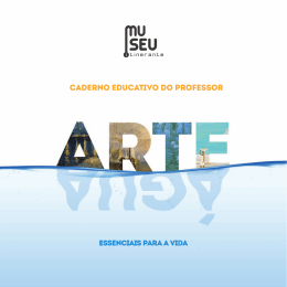 CADERNO EDUCATIVO DO PROFESSOR