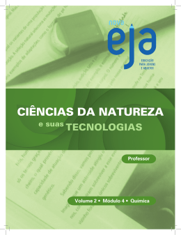Química - Projeto SEEDUC