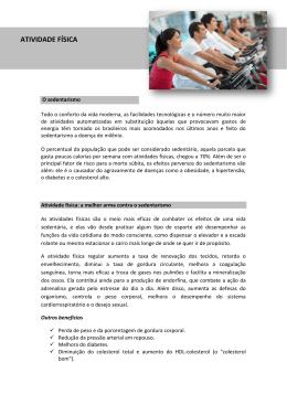 ATIVIDADE FÍSICA - Med Rio Check-up