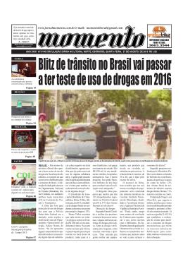 Edição 5140 quinta-feira 27 de agosto de 2015