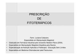 modelo de prescrição