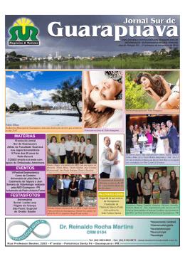 jornal 151.pmd - Jornal Sur Guarapuava