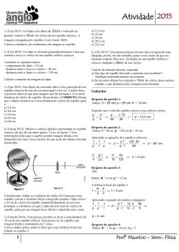 Equação de Gauss - Anglo Guarulhos