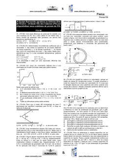 Física - Projeto Rumo ao ITA