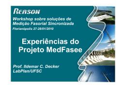 Experiências do Projeto MedFasee