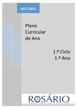plano de atividades - Colégio de Nossa Senhora do Rosário