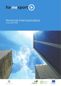 Horizonte Internacionalizar - Guia para PME