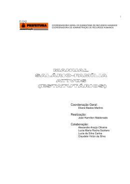 Manual - Prefeitura do Rio de Janeiro