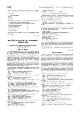 22332 ministério do ambiente e do ordenamento do território