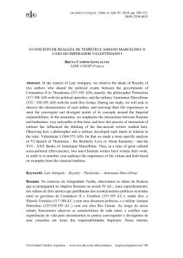 paulo orosio: una interpretación de la historiografía providencialista