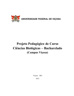 PPP junho 2012 – Final - Ciências Biológicas