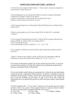 2a. Série - seletivo