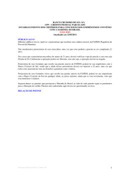 Marinha - ES PROFIT - Consultoria Financeira