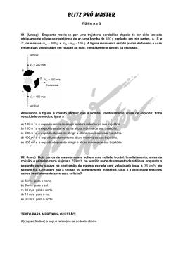 BLITZ PRÓ MASTER - Pró Master Vestibulares