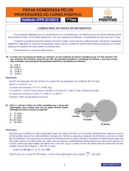 55 A 63 - MATEMATICA_UFPR_2014