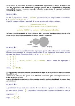 Vestibular UFPR 2014/2015 1ª fase