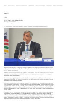 A prevenção e a saúde pública - Med Rio Check-up