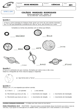 Simulado P7 Ciencias